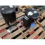 (LOT) (2) COPELAND SCROLL 7 TON COMPRESSORS, M/N QR85K1-TFD-300, 85,300 BTU