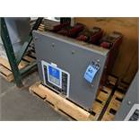 CUTTLER HAMMER TYPE 150VCP-W500 VACUUM CIRCUIT BREAKER, S/N 00102484 ** 50 TEST CYCLES SHOWN ON