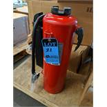(LOT) (4) BADGER BRIGADE MODEL B-30-RG FIRE EXTINGUISHERS ** NEVER USED **