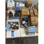 (LOT) MISC. METERS AND GAUGES BY HARRIS, WESTING HOUSE, ASHCROFT AND YOKOGAWA ** (1) SKID **