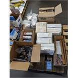 (LOT) MISC. SUPPLY FLUIDS, GEAR GREASE, PVC WELDON, DEGREASER, LOCTILE, RUBBER COATING AND