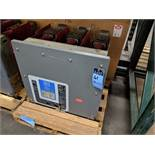 CUTTLER HAMMER TYPE 150 VCP-W500 VACUUM CIRCUIT BREAKER, S/N 98084385 ** 125 TEST CYCLES SHOWN ON