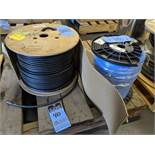 (LOT) 500' REEL COAXIL CABLE AND 1000' CAT 6 DATA TRANSMISSION WIRE