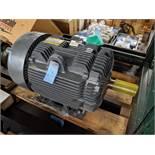 """75 H.P. BALDOR """"SUPER E"""" ELECTRIC MOTOR, 460 VOLT, 870 RPM, FRAME 444T ** NEVER PUT IN SERVICE **"""