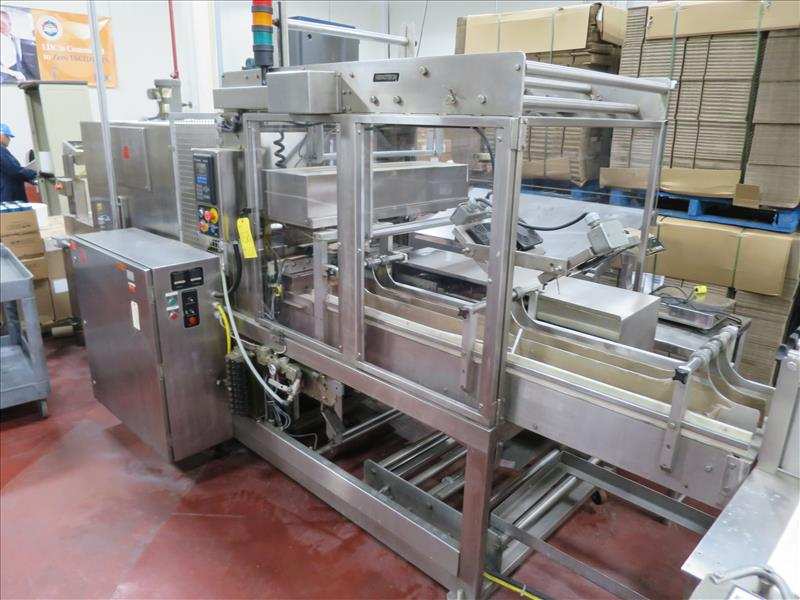 Nenotech Inc. S/S 12-can variety pack shrink wrapper bundler, model 3012, ser. no. 2003031, 330