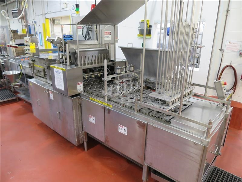 "Lot 154 - Autoprod Inc. ""Portion Pack"" single-serving cup filling and sealing machine, model FP-2X4, ser."