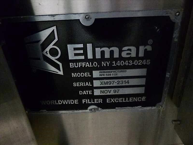 Lot 260 - Elmar (remanufactured) 28-station S/S rotary composite can filler, 275, 283, and 330 milliliter