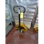 Lift-Rite pallet truck (Restricted Removal: Not available for removal until after May 1st.)