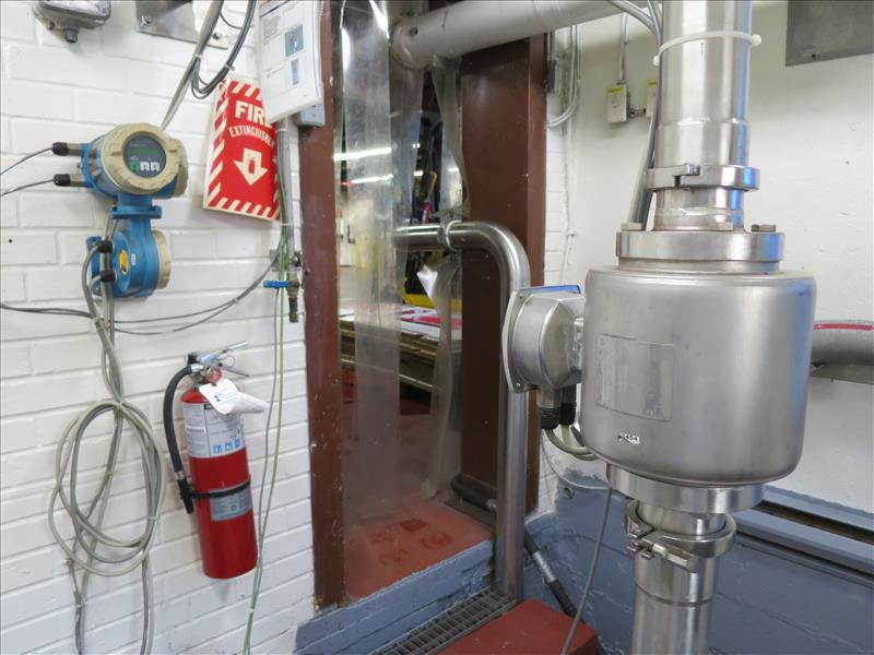 Endress + Hauser Flow Meter, model Promag H (tagged 236 and 236A)