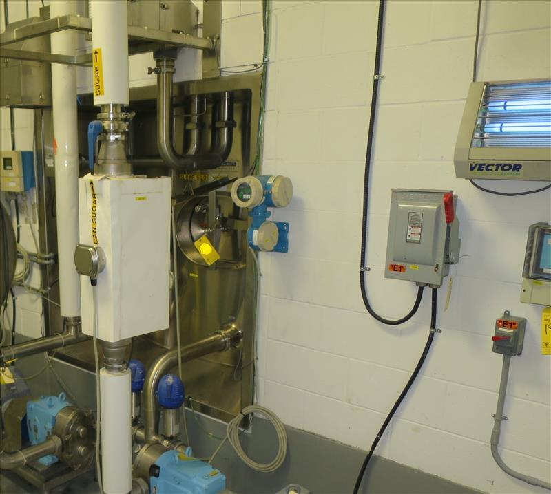 Endress + Hauser Flow Meter, model Promass F