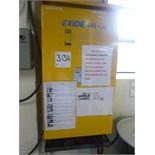 Exide 666 Plus battery charger, 48 volt, model 6P24-3-1000, ser. no. 126637