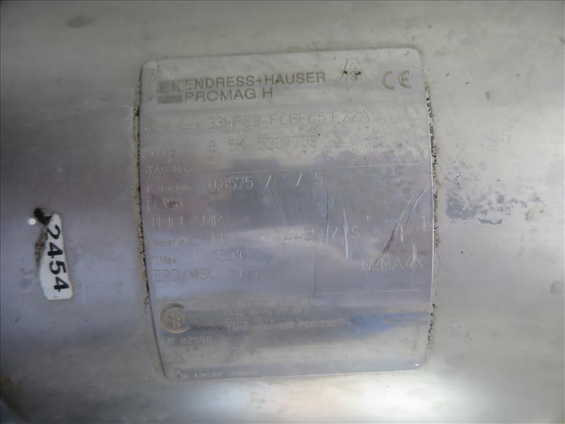 Endress + Hauser Flow Meter, model Promag H (tagged 236 and 236A) - Image 5 of 5