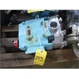 Waukesha CB Positive Pump Head, model 130, ser. no. 396627CRD05