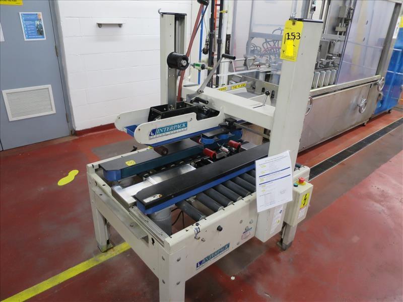 Lot 153 - Interpack case taper, model USA 2024-SB/3, s/n B04-T544-001