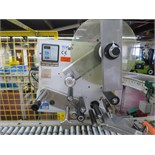 CCL Label Applicator, model 230, type ALS230R, s/n 08700-01-1739/09/97 on stand with casters