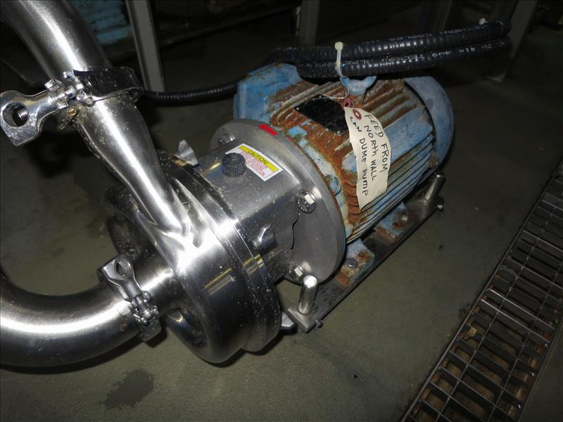 Alfa Laval Centrifugal Pump, model LKH-10, 3 hp