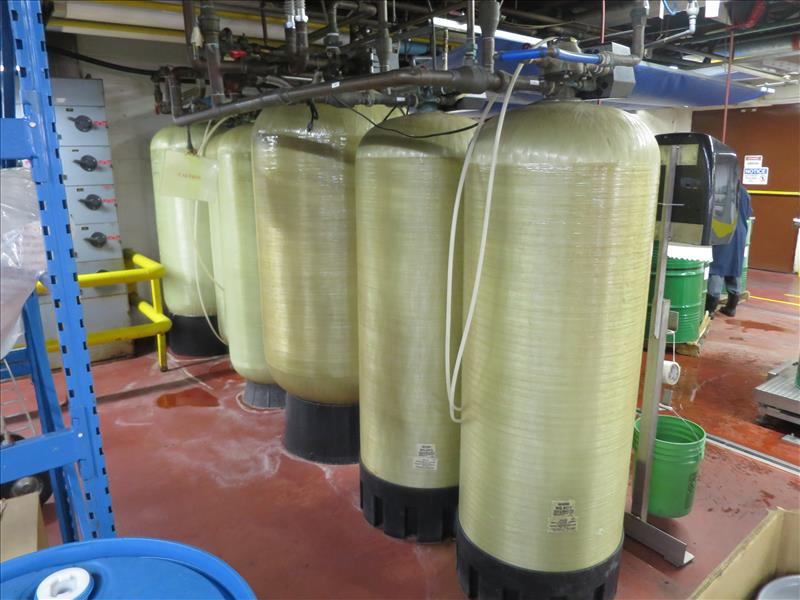 Lot 219 - Water Softener System, 6 tank design