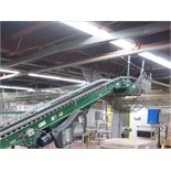 """overhead powered belt and roller full tray conveyor system to palletizer, including: approx. 16"""" x"""
