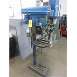 "Busy Bee pedestal drill press, model B178, ser. no. 1635, 5/8"" cap., c/w drill vise"