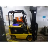 """Daewoo Electric Forklift, model BC25S-2, 2400 lb capacity @ 24"""" load centers to 276"""" lift height, 48"""