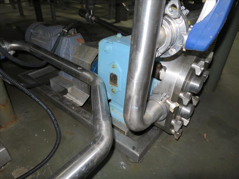 Waukesha CB Positive Pump, model 60, 5 hp drive - Image 2 of 2