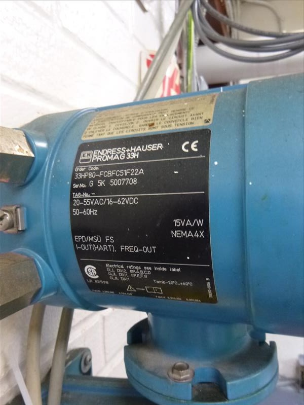 Endress + Hauser Flow Meter, model Promag H (tagged 236 and 236A) - Image 4 of 5