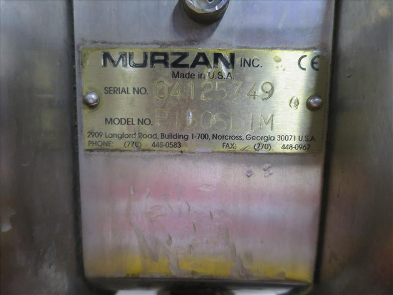 Murzan Diaphragm Pump, model P15OSLIM, s/n 4125749 - Image 2 of 2