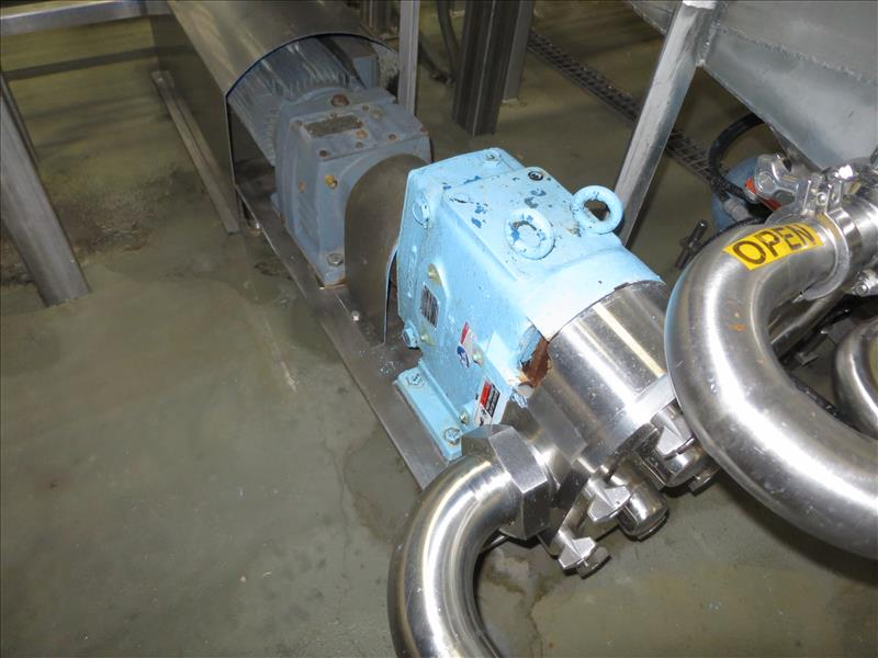 Lot 211 - Waukesha CB Positive Pump, model 130