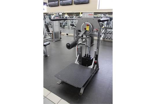 BODY MASTERS S114A MULTI-HIP MACHINE