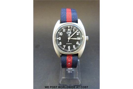 Cabot Watch Company (CWC) General Service military automatic
