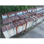 STRUCTURAL STEEL & DUCTING: COMMON DIMENSIONS: 456'' X 90'' X 48'', LOCATION: GRID 4F