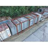 LOT OF DUCTING: LARGEST DIMENSIONS; 372'' X 82'' X 81'', LOCATION: GRID 4H