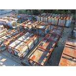 STRUCTURAL STEEL & DUCTING: DUCTING DIMENSIONS UP TO 432'' X 88'' X 87''