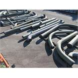 LARGE LOT OF ASSORTED PIPE: 6'' - 30'' DIA. UP TO 496'', 28,365 LB., LOCATION: GRID 4B