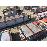 LOT OF STRUCTURAL STEEL & DUCTING: ASSORTED PIECES, CRATES UP TO 477'' X 78'', LOCATION: GRID 3HA