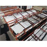 SMALLER LOT OF STRUCTURAL STEEL: ASSORTED PIECES, CRATES AVERAGE 535'' X 134'', LOCATION: GRID 3H