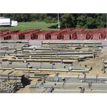 LARGE LOT OF STRUCTURAL STEEL: BEAMS, COLUMNS, BEAMS UP TO 496'' X 25'' X 20'' X 6'', 477'' X 27'' X