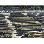 LARGE LOT OF STRUCTURAL STEEL: BEAMS, BEAMS UP TO 403'' X 21'' X 20'' X 4 1/2'', LOCATION: GRID 3CA