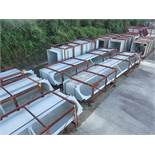 DUCTING, OTHER STRUCTURAL: MOST COMMON DIMENSIONS: 492'' X 96'' X 48'', LOCATION: GRID 4E