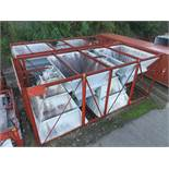 STRUCTURAL STEEL, HOPPERS & DUCTING: CRATE DIMENSIONS UP TO 319'' X 132'' X 124'', 12,608 LB., OTHER