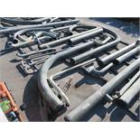 LARGE LOT OF ASSORTED PIPE: 535'', 6'' TO 26'' DIA. UP TO 573'', 24,842 LB., LOCATION: GRID 4C