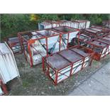 STRUCTURAL STEEL & DUCTING: DUCTING UP TO 483'' X 98'' X 98'', ASSORTED CRATED PIECES, LOCATION: