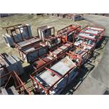 LARGE LOT OF STRUCTURAL STEEL & DUCTING: ASSORTED PIECES, CRATES UP TO 467'' X 126'', LOCATION: GRID