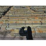 LARGE LOT OF STRUCTURAL STEEL: BEAMS, COLUMNS, HANDRAIL, BEAMS UP TO 630'' X 27'' X 20'' X 7'', ALSO