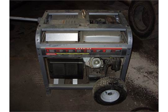 Eagle Equipment gas generator 8500M