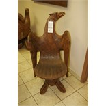 Wooden Carved Chair (male)