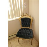 Antique Chair,24K Gold Leaf