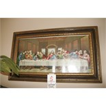 """Last Supper"" Picture Framed"