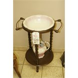 Antique Wash Basin w/Stand