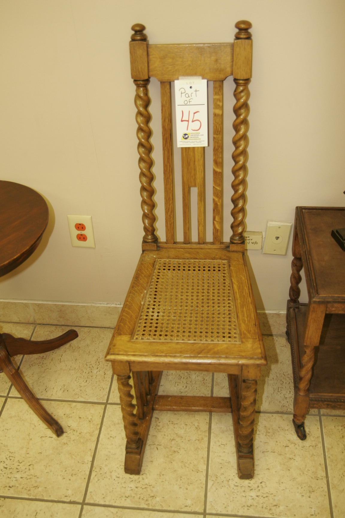 Antique Chairs - Image 2 of 2